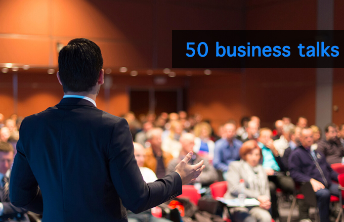 50 business talks