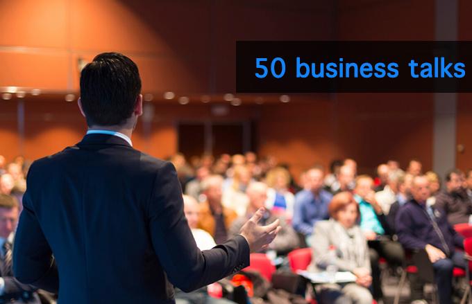 50 business talks